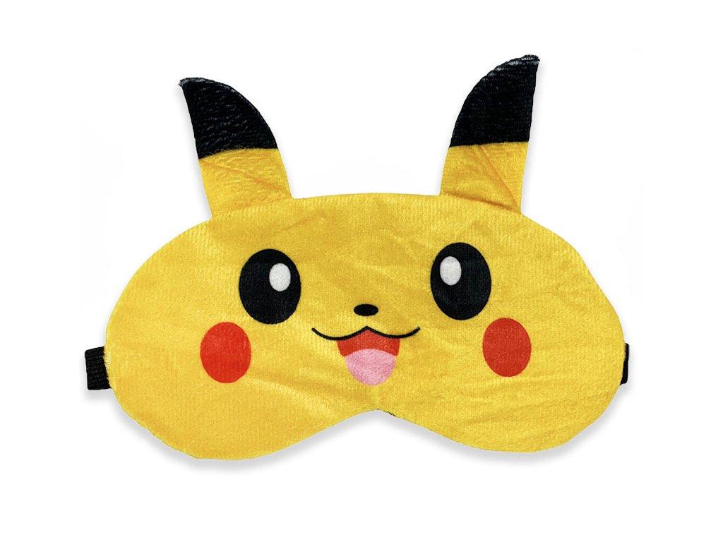 Maska na oči na spaní žlutý detektiv