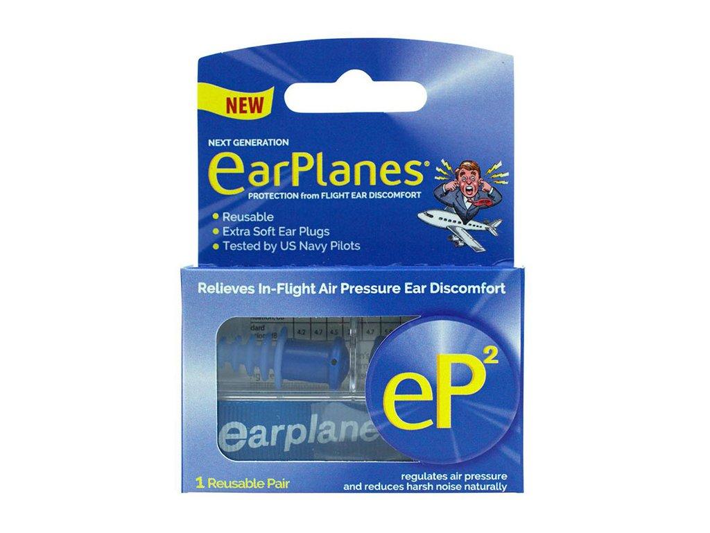 Cirrus EarPlanes eP2 Špunty do uší do letadla