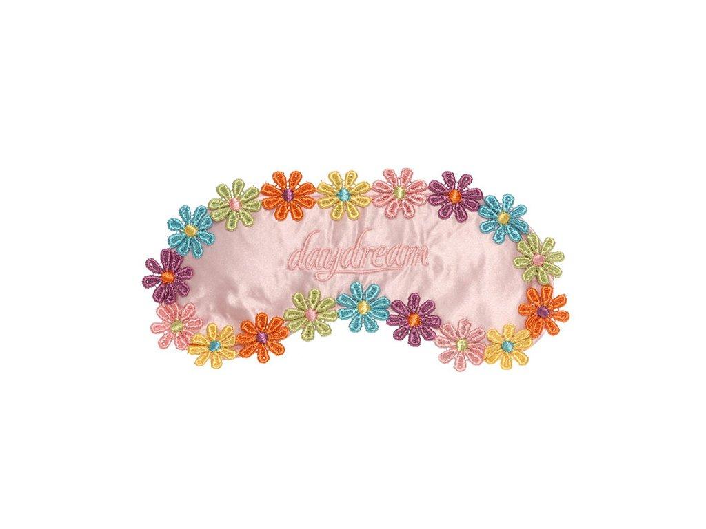Daydream Flowers Pink Maska na oči na spaní