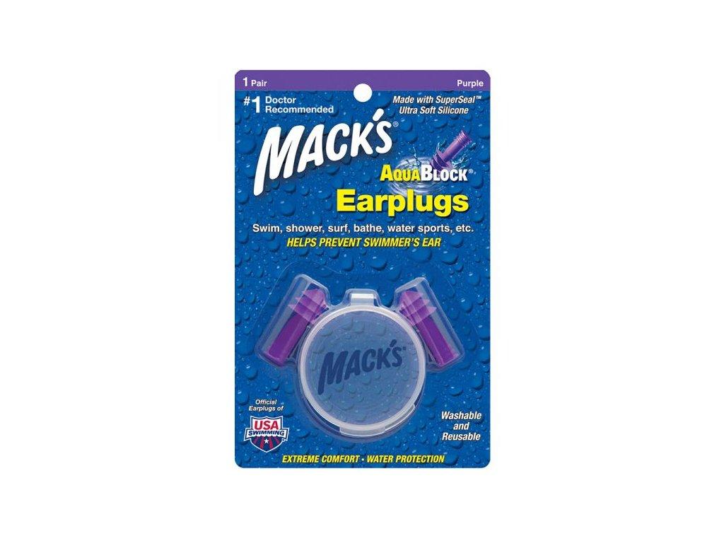 Mack's Aqua Block purple 1 pár
