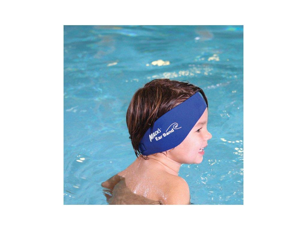 4f0f913e8f2 ... Mack s Ear Band neoprenová čelenka na uši na plavání pro děti