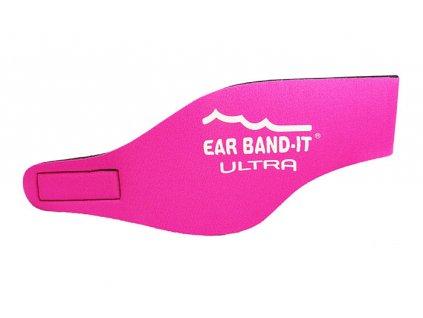 Ear Band-It® Ultra Růžová  Čelenka na plavání