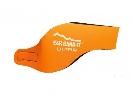 Ear Band-It® Ultra Oranžová  Čelenka na plavání