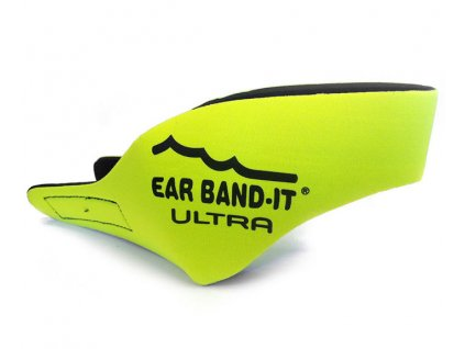 Ear Band-It® Ultra Žlutá  Čelenka na plavání