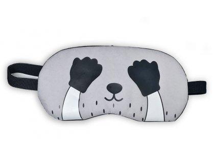 Maska na oči na spaní Zakrytý oči