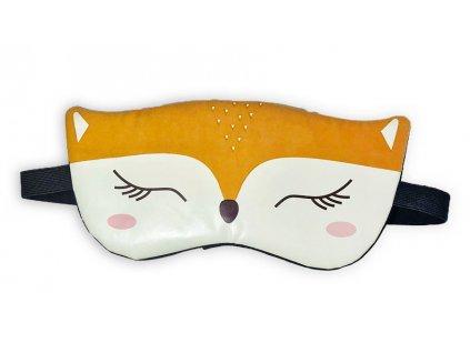 Maska na oči na spaní Liščí oči