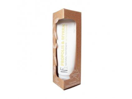 NFCO přírodní zubní pasta Propolis & Myrrh v krabičce