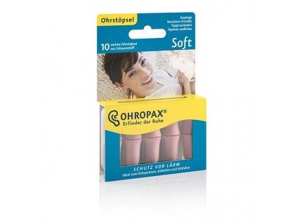 Ohropax Soft 5 párů pěnové špunty do uší 32 dB