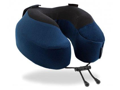 Cabeau Evolution S3 Indigo cestovní polštář z úhlu
