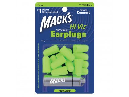 Hi Viz Soft Foam Ear Plugs 7 Pair
