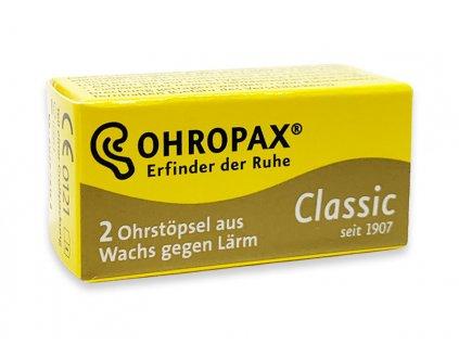 Ohropax Classic voskové špunty do uší 1 pár