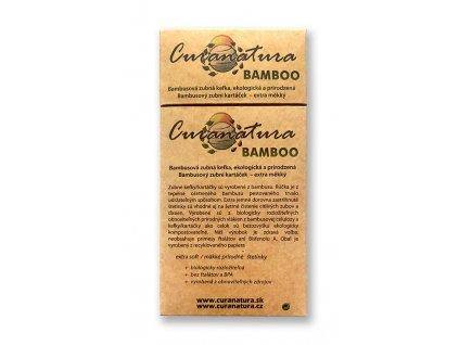 Curanatura Bamboo bambusové kartáčky 12ks