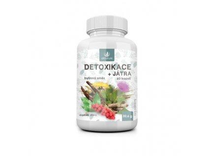 Allnature Detoxikace bylinný extrakt 60 cps.