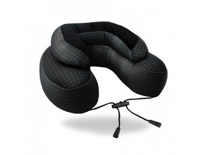 Cabeau Evo Microbead cestovní polštář černý z mikrokuliček 2