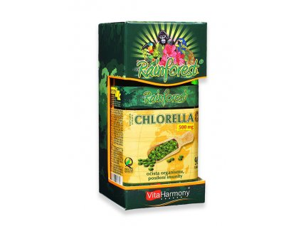 Rainforest Chlorella 500 mg 90 tbl.