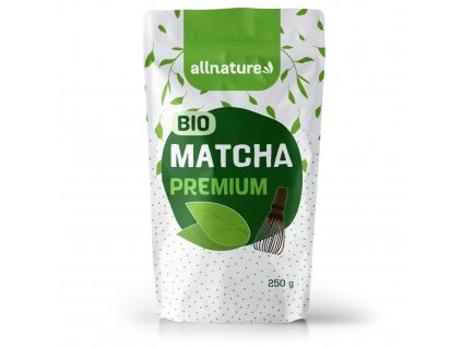 matcha tea premium allnature 250 g