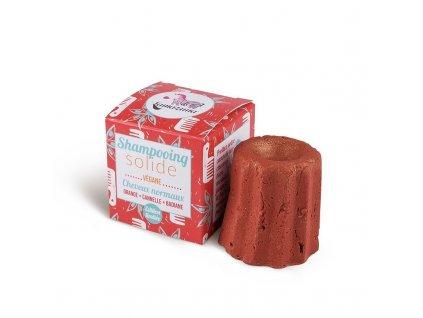 Lamazuna Tuhý šampon pro normální vlasy pomeranč, anýz a skořice (55 g)