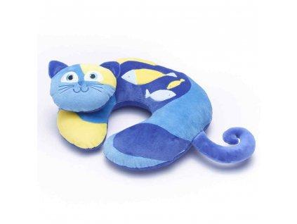 TravelBlue Dětský cestovní polštář Kočka Kitty