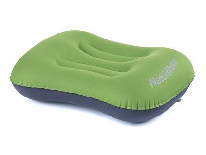 NatureHike Aeros Zelený Cestovní polštář nafukovací kolem krku Earplugs cz
