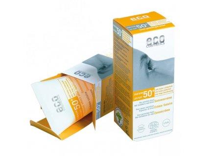Eco Cosmetics Opalovací krém SPF 50+ BIO (75 ml)