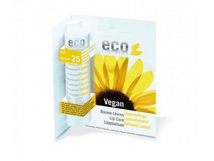 Eco cosmetic ochranný balzám na rty SPF 25 bio