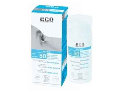 Eco cosmetic opalovací krém natural bez parfemace spf 50