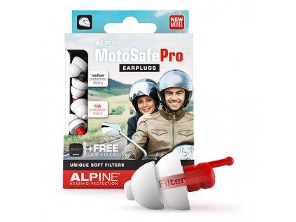 Špunty do uší na motorku Alpine MotoSafe Pro
