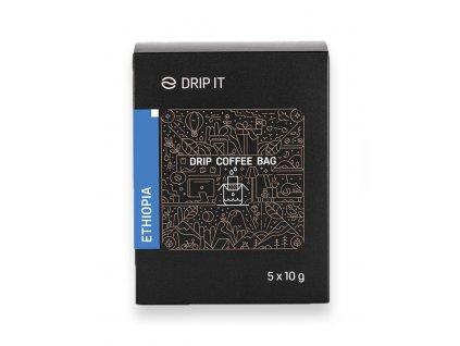 Drip it káva ve filtru etihopia 5 káv