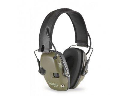 Howard Leight chrániče sluchu Impact Sport zelený