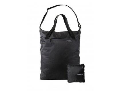 Matador skládací taška přes rameno on grid tote bag černá s pouzdrem