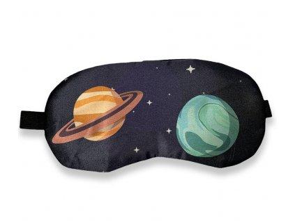 Maska na oči na spaní planety