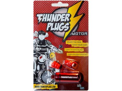 Thunderplugs Motorpack Špunty do uší na moto Earplugs