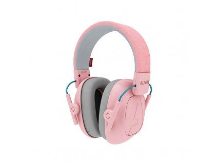 Alpine růžová dětská sluchátka proti hluku
