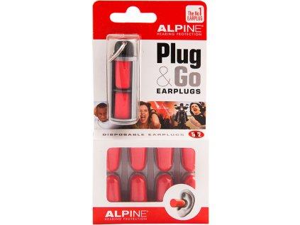 Alpine Plug & Go pěnové špunty do uší Earplugs