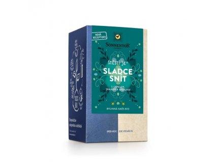 BIO porcovaný čaj Sonnentor Štěstí je sladce snít