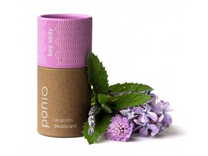 Ponio přírodní deodorant Lavanding 2