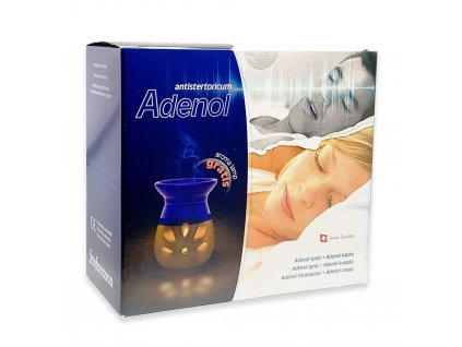 Adenol sprej, kapky, lampa proti chrapání