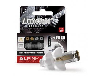 Špunty do uší pro muzikanty Alpine MusicSafe