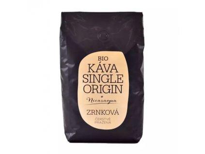 Bio Káva single origin nicaragua zrnková čerstvě pražená