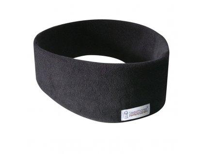 SleepPhones bezdrátová čelenka na spaní černá fleece