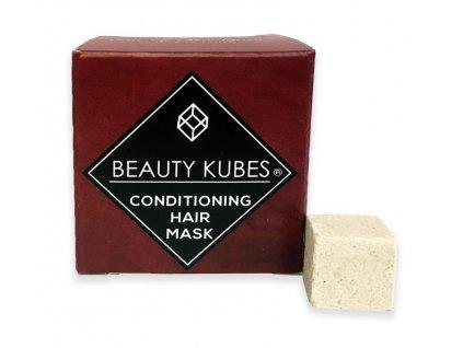 Beauty Kubes kondicionér na vlasy bílé pozadí