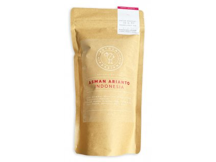 Asman Arianto Indonesia zrnková káva putovní pražířna 250g