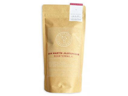 San Martín Jilotepeque Guatemala zrnková káva 250g