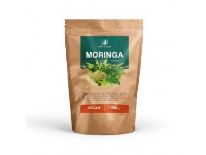 allnature moringa prasek raw 200 g