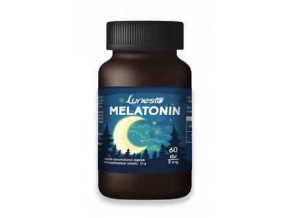 Lunesto Melatonin 5mg 60 tbl. produktové foto 2