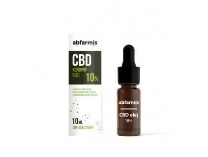 Abfarmis konopný olej 10%