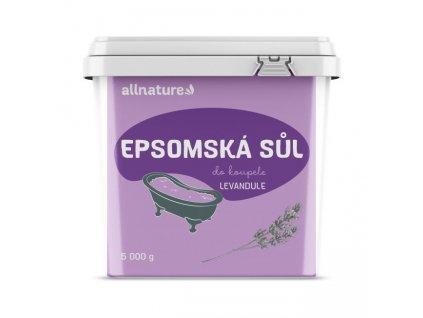 ALlnature epsomská sůl levandule 5000g
