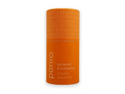 Ponio přírodní tuhý deodorant Pomeranč a eukalyptus