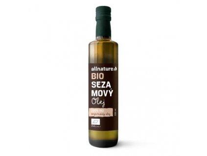 allnature sezamovy olej bio 250 ml