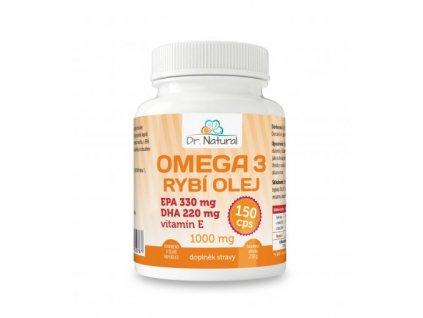 Dr. Natural Omega 3 rybí olej 150 tablet